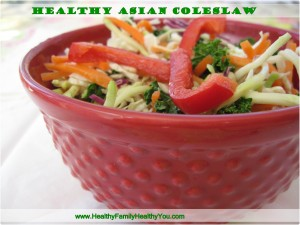 healthy asian coleslaw