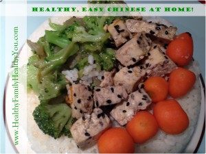 Healthy easy chinese at home