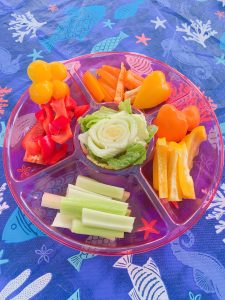 Beautiful Vegetable Platter for Kids