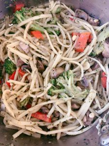 Hearts of Palm Pasta Primavera