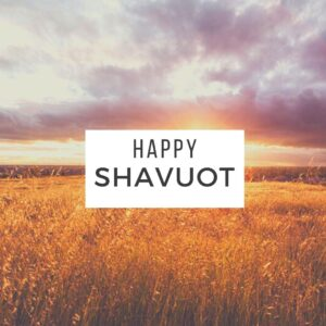 An easy, refreshing, dairy-free Shavuot